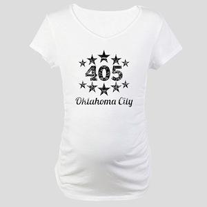 Vintage 405 Oklahoma City Maternity T-Shirt