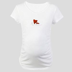 Heartbeats - Maternity T-Shirt