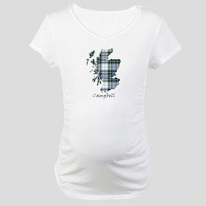 Map-Campbell dress Maternity T-Shirt