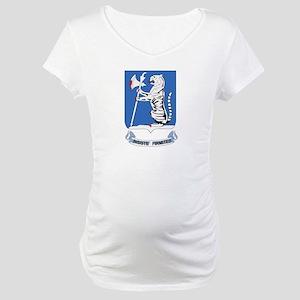 DUI - 1st Bn - 77th Armor Regt Maternity T-Shirt