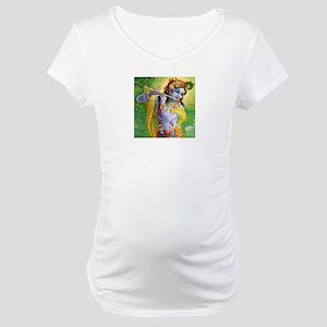 I Love you Krishna. Maternity T-Shirt
