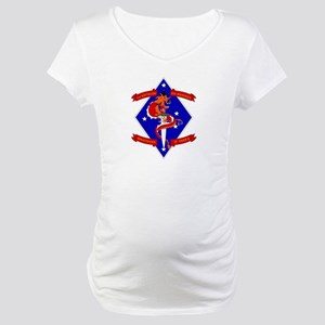 1st Battalion - 4th Marines Maternity T-Shirt