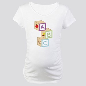 Baby Blocks Maternity T-Shirt