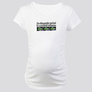 Parallell Universe Maternity T-Shirt