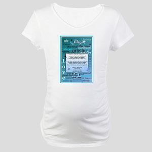 LIBRA BIRTHDAY Maternity T-Shirt