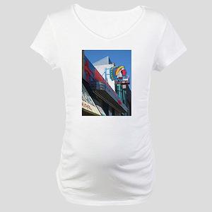 Albuquerque Street Scene Maternity T-Shirt