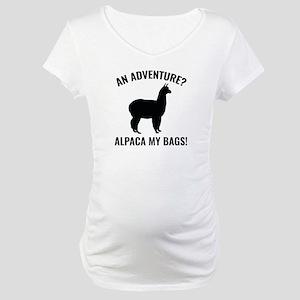Alpaca My Bags Maternity T-Shirt