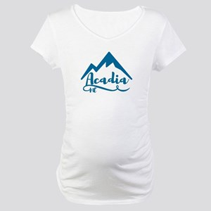 Acadia Maine Maternity T-Shirt