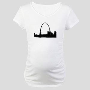 Gateway Arch - Eero Saarinen Maternity T-Shirt