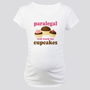 Funny Paralegal Maternity T-Shirt