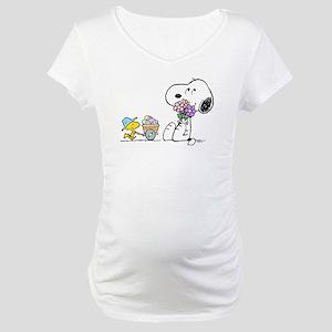 Spring Treats Maternity T-Shirt