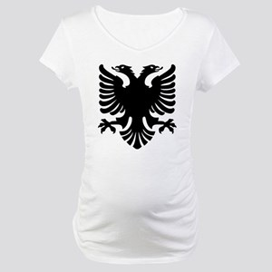 Shqipe - Double Headed Griffin Maternity T-Shirt