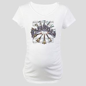 Handbells Maternity T-Shirt