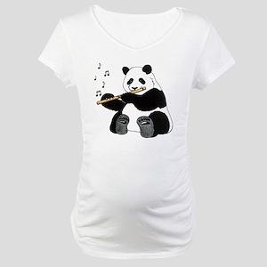 cafepress panda1 Maternity T-Shirt