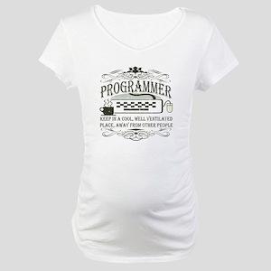 Vintage Programmer Maternity T-Shirt