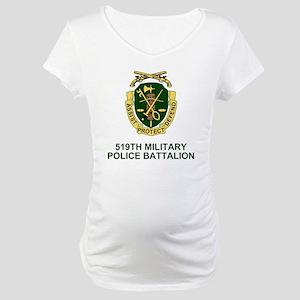 Army-519th-MP-Bn-Shirt-2 Maternity T-Shirt