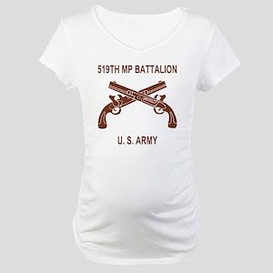 Army-519th-MP-Bn-Shirt-6-C Maternity T-Shirt