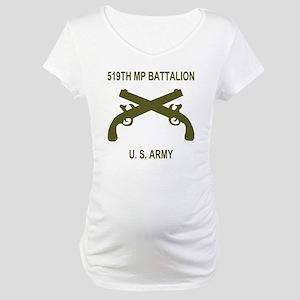 Army-519th-MP-Bn-Shirt-6-E Maternity T-Shirt