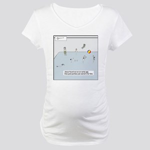 pool party tile Maternity T-Shirt