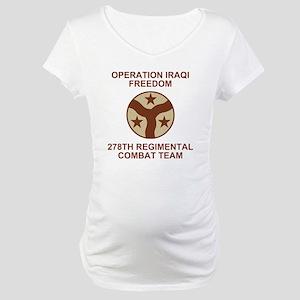 ARNG-278th-RCT-Iraqi-Freedom-Sub Maternity T-Shirt