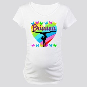 PERSONALIZE GYMNAST Maternity T-Shirt