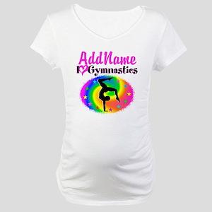 GYMNAST STAR Maternity T-Shirt