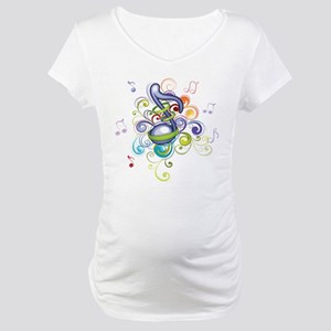 Music in the air Maternity T-Shirt