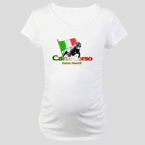 Cane Corso run Maternity T-Shirt