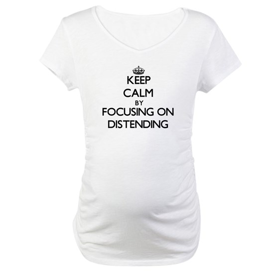 Keep Calm by focusing on Distending