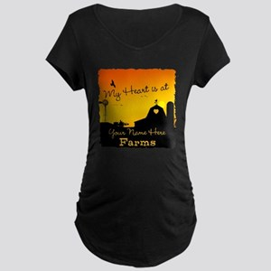My Favorite Farm Maternity T-Shirt