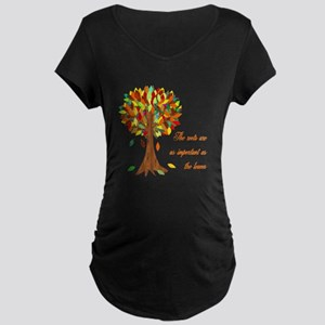 Roots Maternity Dark T-Shirt