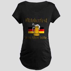 A Beer Please Maternity T-Shirt