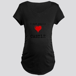 The Love for Castle Maternity T-Shirt