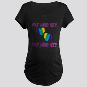 Rainbow Love Maternity T-Shirt