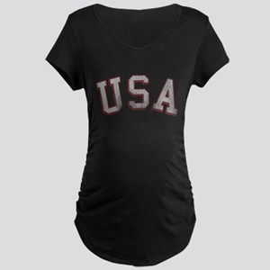 Vintage USA Maternity Dark T-Shirt