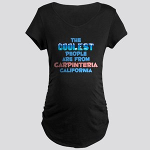 Coolest: Carpinteria, CA Maternity Dark T-Shirt