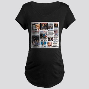 Obama Inauguration Maternity Dark T-Shirt