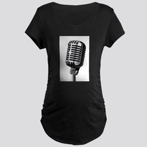 Isolated Stage Mic Maternity T-Shirt