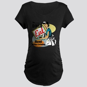 MOMS-DINER Maternity Dark T-Shirt