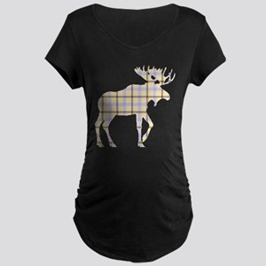 Sweet Plaid Moose by LH Maternity T-Shirt