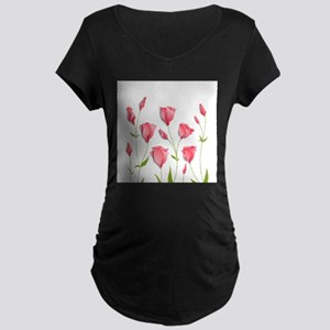 Pretty Flowers Maternity T-Shirt