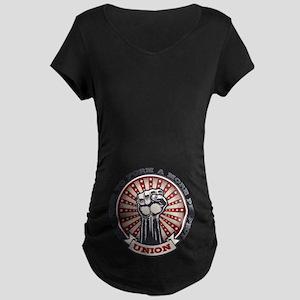 4f2816ab5fa0bf A More Perfect Union Maternity Dark T-Shirt