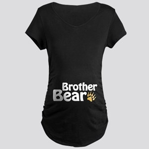 Brother Bear Maternity Dark T-Shirt