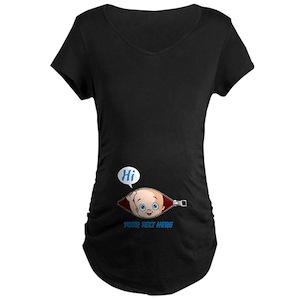 9668b591 Funny Maternity T-Shirts - CafePress