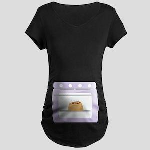 e625c73c Bun In The Oven Pregnancy Maternity Dark T-Shirt