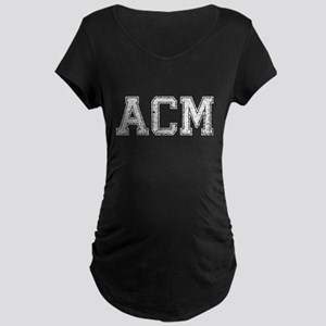 ACM, Vintage, Maternity Dark T-Shirt