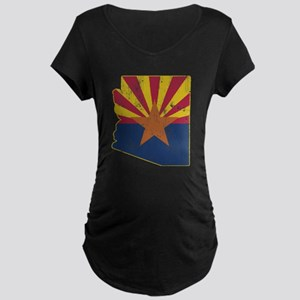 Vintage Arizona State Outli Maternity Dark T-Shirt