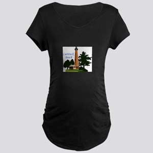 Currituck Beach Maternity T-Shirt
