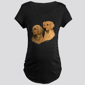 Golden Dark Maternity Dark T-Shirt