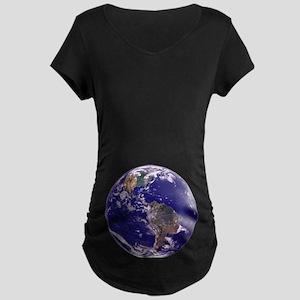 EARTH Maternity Dark T-Shirt
